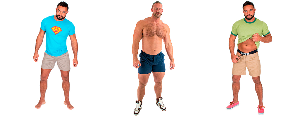 men's short chino shorts