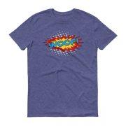 superhero-WOOF-tshirt_mockup_Flat-Front_Heather-Blue