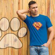 superhero-paw-print-tee-model